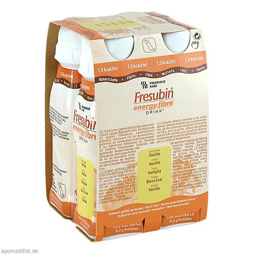 Fresubin energy fibre DRINK Vanille Trinkflasche, 4X200 ML, Fresenius Kabi Deutschland GmbH