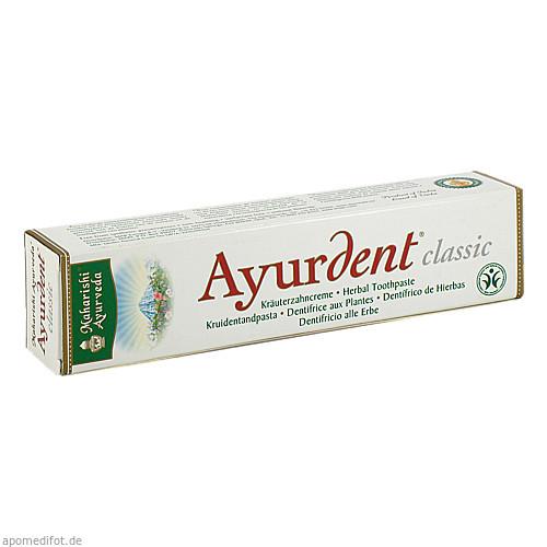 Ayurdent Zahncreme Classic, 75 ML, Maharishi Ayurveda Products Europe B.V.