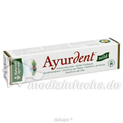 Ayurdent Zahncreme Mild, 75 ML, Maharishi Ayurveda Europe B.V.