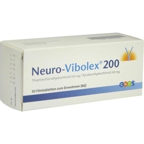 Neuro Vibolex 200, 50 ST, Cnp Pharma GmbH