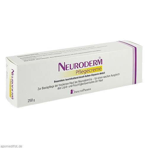 Neuroderm Pflegecreme, 250 G, Infectopharm Arzn.U.Consilium GmbH