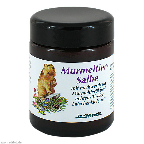 MURMELTIER SALBE, 100 ML, Josef Mack GmbH & Co. KG