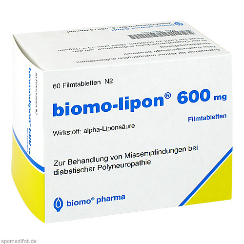 BIOMO LIPON 600, 60 ST, Biomo Pharma GmbH