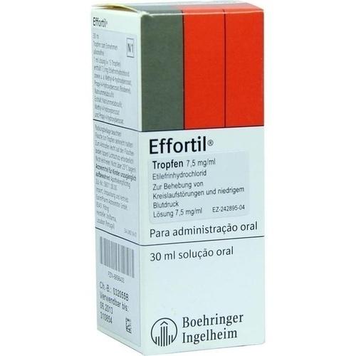 Effortil Lösung zum Tropfen, 30 ML, Eurimpharm Arzneimittel GmbH