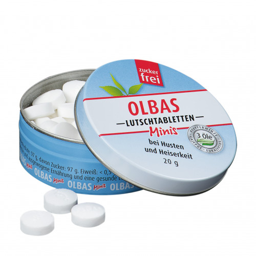 Olbas Minis Lutschtabletten zuckerfrei, 20 G, Salus Pharma GmbH
