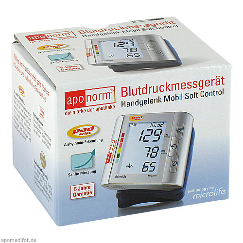 Aponorm Handgelenk Mobil Soft Control, 1 ST, Wepa Apothekenbedarf GmbH & Co. KG