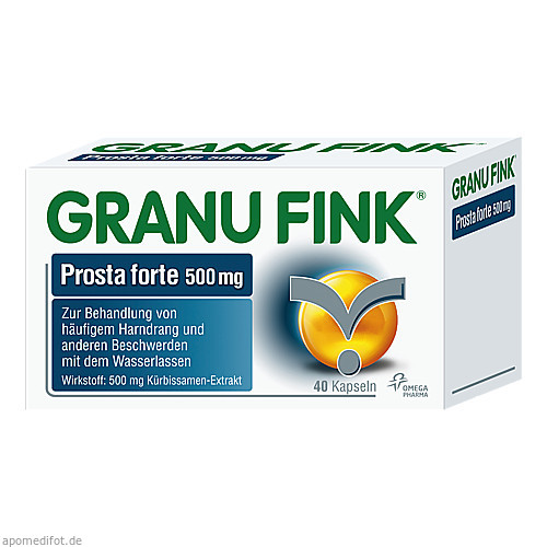 GRANU FINK Prosta forte Kapseln, 40 ST, Omega Pharma Deutschland GmbH
