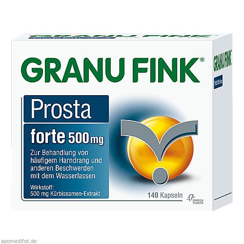 GRANU FINK Prosta forte Kapseln, 140 ST, Omega Pharma Deutschland GmbH