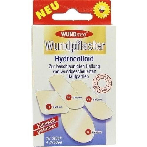 Wundpflaster Hydrocolloid 4 Größen, 10 ST, Axisis GmbH