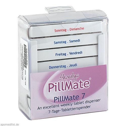 Medikamentendispenser Pillmate-7, 1 ST, Careliv Produkte Ohg