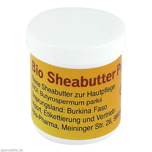 Sheabutter pur BIO unraffiniert, 20 G, Abis-Pharma