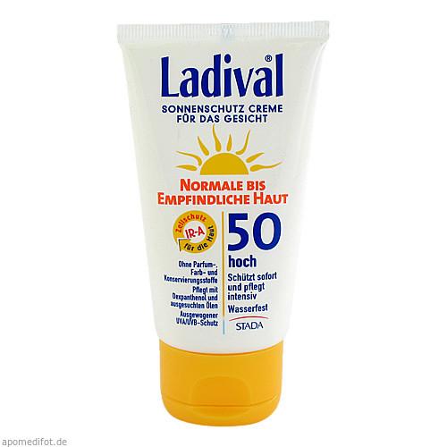LADIVAL norm.bis empfindl.Haut Creme Gesi.LSF 50, 75 ML, STADA GmbH