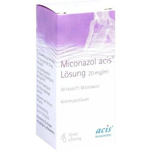 Miconazol acis Lösung, 10 ML, Acis Arzneimittel GmbH