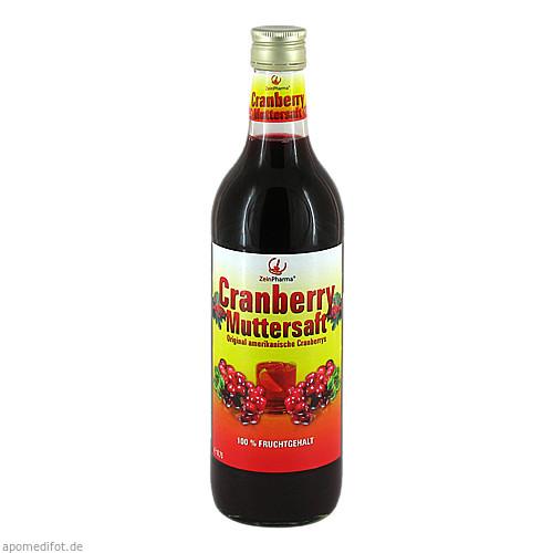 Cranberry Muttersaft 100%, 750 ML, Zein Pharma - Germany GmbH
