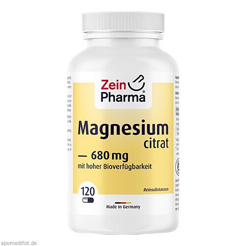 Magnesium Citrat, 120 ST, Zein Pharma - Germany GmbH