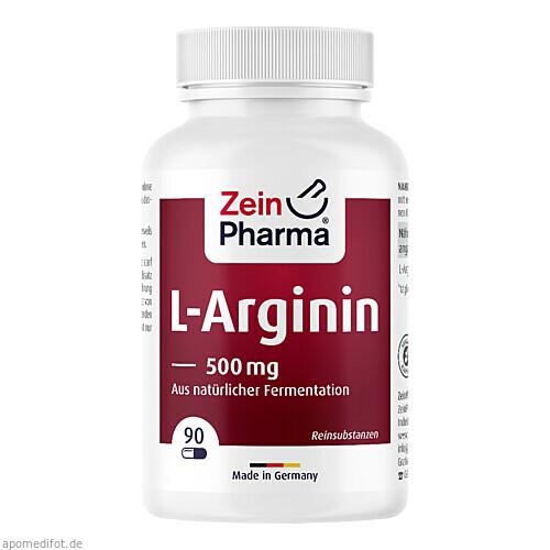 LA-L-Arginin, 90 ST, Zein Pharma - Germany GmbH