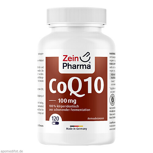 Coenzym Q 10 100mg, 120 ST, Zein Pharma - Germany GmbH
