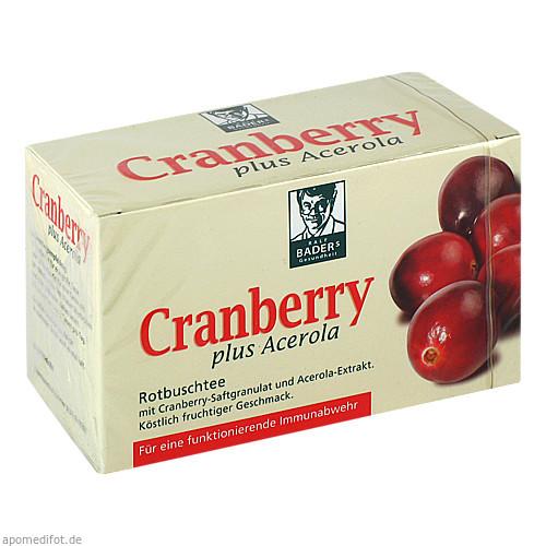 Cranberry Acerola BADERS, 20 ST, Epi-3 Healthcare GmbH