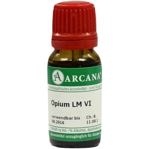 Opium LM 6, 10 ML, Arcana Arzneimittel-Herstellung Dr. Sewerin GmbH & Co. KG