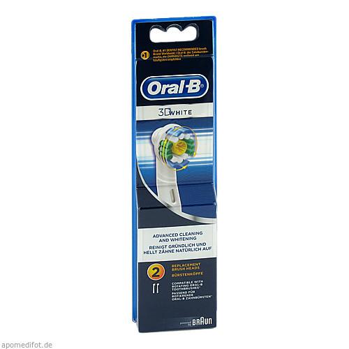Oral-B Aufsteckbürsten 3D White, 2 ST, Wick Pharma / Procter & Gamble GmbH
