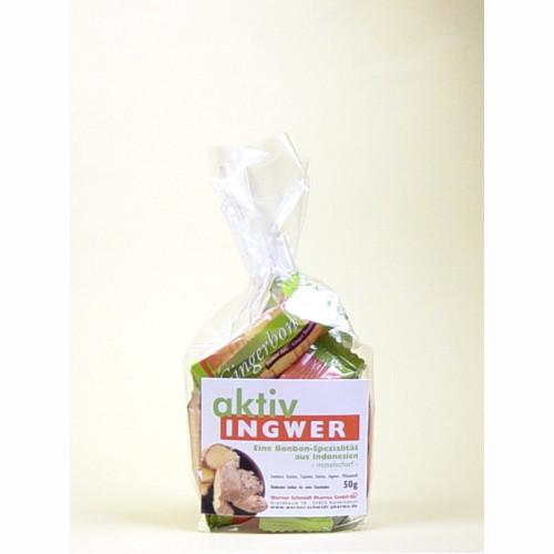 aktiv Ingwer-Bonbons, 50 G, Werner Schmidt Pharma GmbH