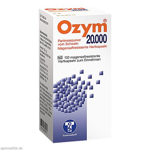 OZYM 20000 Hartkapseln, 100 ST, Trommsdorff GmbH & Co. KG