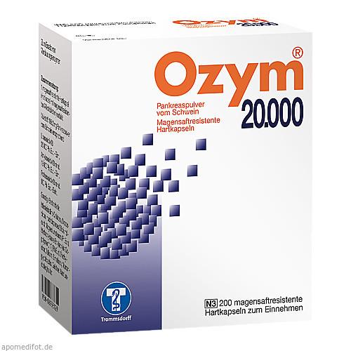 OZYM 20000 Hartkapseln, 200 ST, Trommsdorff GmbH & Co. KG