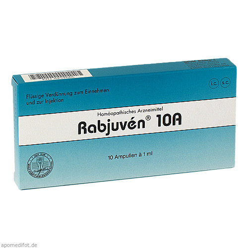 Rabjuven 10A, 10 ST, Adjupharm GmbH
