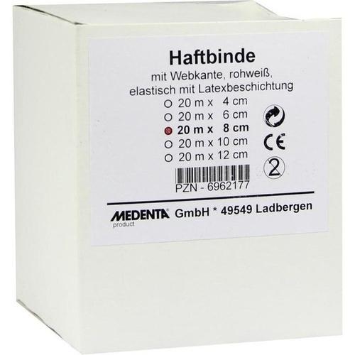 HAFTBINDE ELASTISCH 20MX8CM, 1 ST, Medenta GmbH