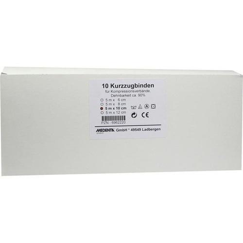 KURZZUGBINDE 5MX10CM, 10 ST, Medenta GmbH
