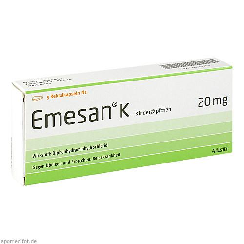 EMESAN K, 5 ST, Aristo Pharma GmbH