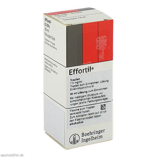 EFFORTIL Tropfen, 30 ML, kohlpharma GmbH