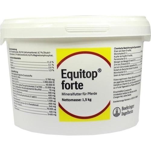 Equitop forte VET, 1.5 KG, Boehringer Ingelheim VETMEDICA GmbH