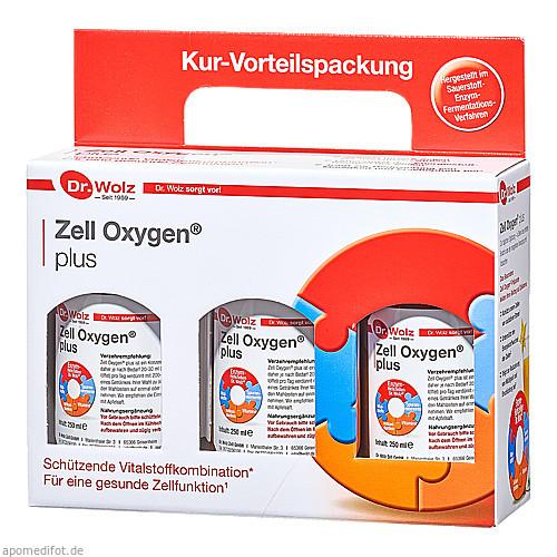 Zell Oxygen Plus Kur, 3X250 ML, Dr. Wolz Zell GmbH