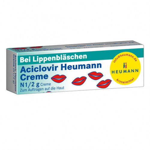 Aciclovir Heumann Creme, 2 G, Heumann Pharma GmbH & Co. Generica KG
