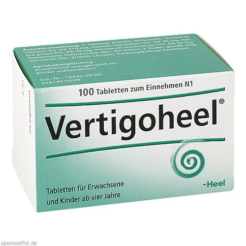 VERTIGOHEEL, 100 ST, Biologische Heilmittel Heel GmbH