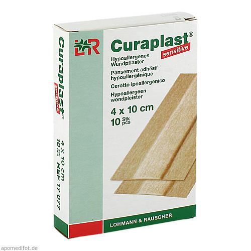 Curaplast sensitive Wundschnnellverband 4x10cm, 10 ST, Lohmann & Rauscher GmbH & Co. KG