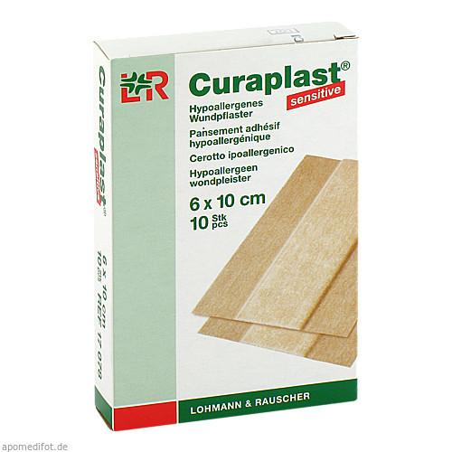 Curaplast sensitive Wundschnnellverband 6x10cm, 10 ST, Lohmann & Rauscher GmbH & Co. KG