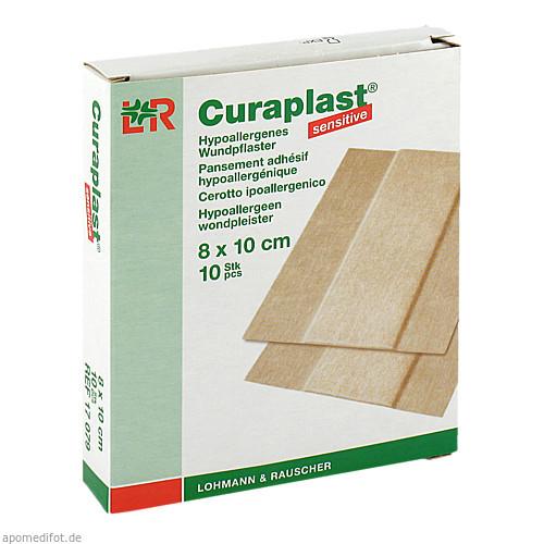Curaplast sensitive Wundschnnellverband 8x10cm, 10 ST, Lohmann & Rauscher GmbH & Co. KG