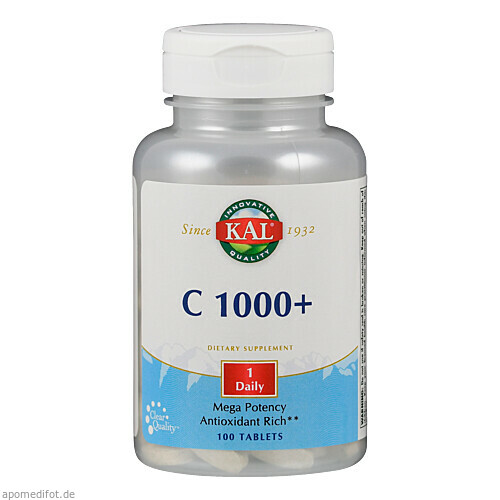 VITAMIN C 1000MG HAGEBUTTE, 100 ST, Supplementa Corporation B.V.