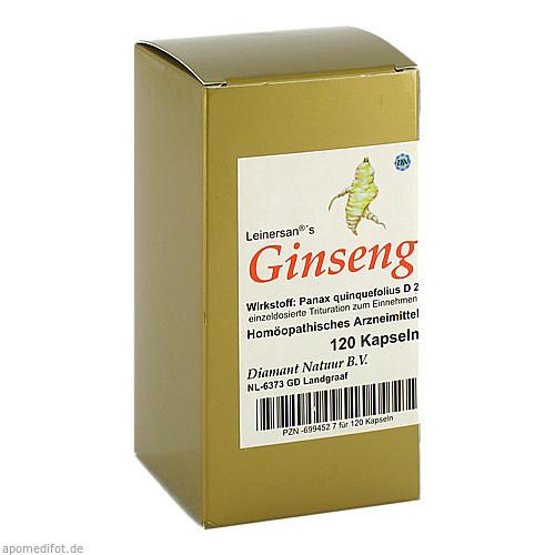 Ginseng, 120 ST, Diamant Natuur GmbH