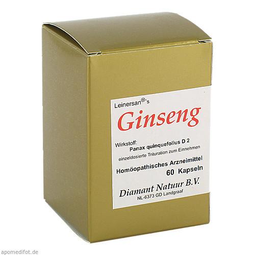 Ginseng, 60 ST, Diamant Natuur GmbH