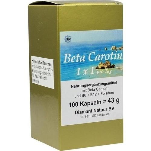 Beta Carotin 1 x 1 pro Tag, 100 ST, Diamant Natuur B.V.