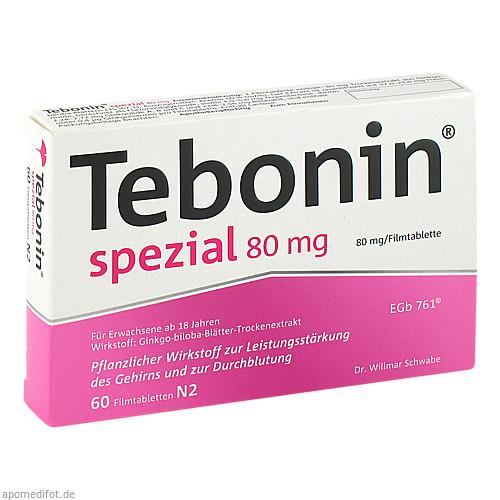 Tebonin spezial 80mg, 60 ST, Dr.Willmar Schwabe GmbH & Co. KG