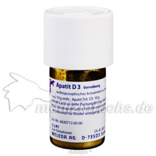 Apatit D3, 20 G, Weleda AG