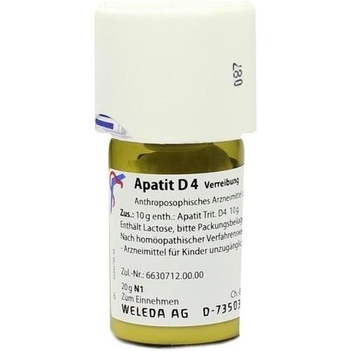 APATIT D 4 Trituration, 20 G, WELEDA AG