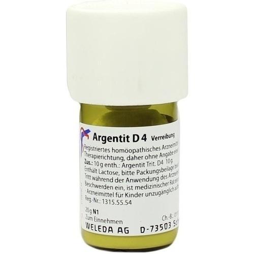 ARGENTIT D 4 Trituration, 20 G, WELEDA AG