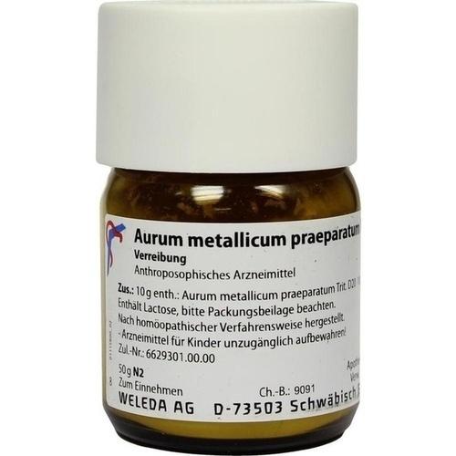 Aurum met.pr. D20, 50 G, Weleda AG