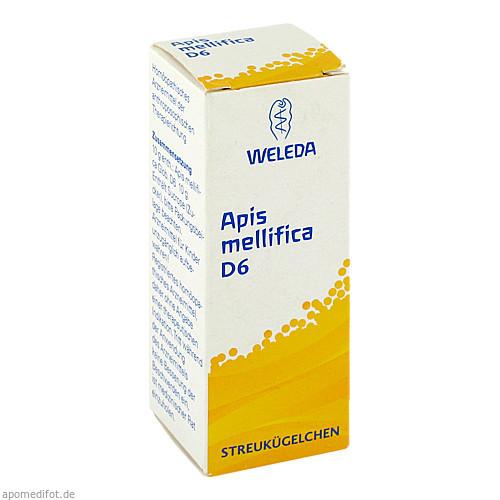 Apis mellifica D6, 10 G, Weleda AG