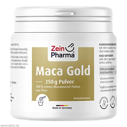 Maca Gold Pulver, 250 G, Zein Pharma - Germany GmbH